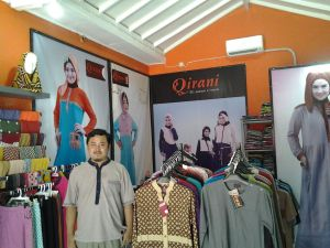 Butik Naufal Perum 2 Tangerang indoor